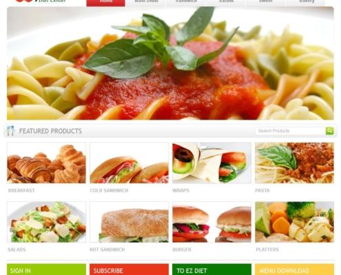 DietCenterME 495x400 - Dubai Web Design