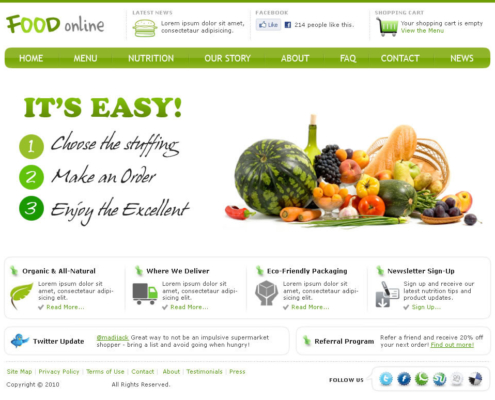 FoodOnline 495x400 - Dubai Web Design