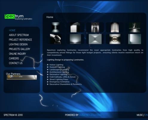 SpectrumLuminaires 495x400 - Dubai Web Design