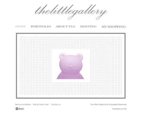 TheLittleGallery 495x400 - Dubai Web Design