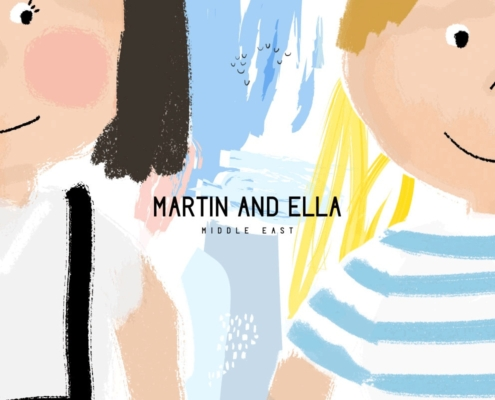 Martin and Ella Kids Online Store 495x400 - Dubai Web Design