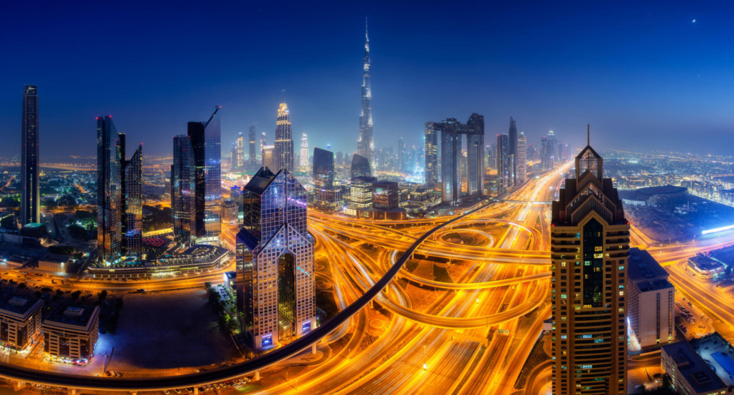 blog Dubai Night Roads 1030x554 - Benefits of .ae domain names for Dubai businesses