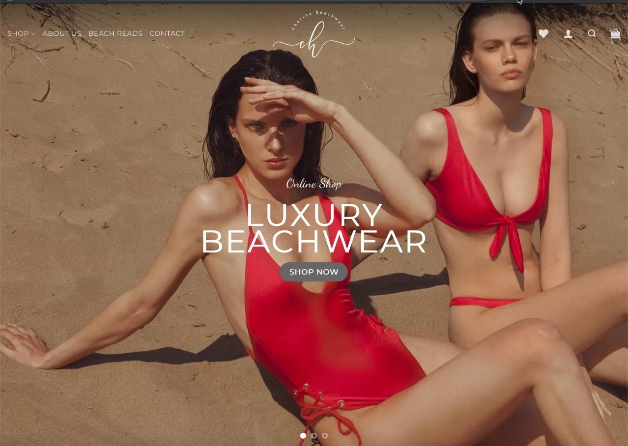 cherina beachwear ecommerce e1591816946591 - Cherina Beachwear