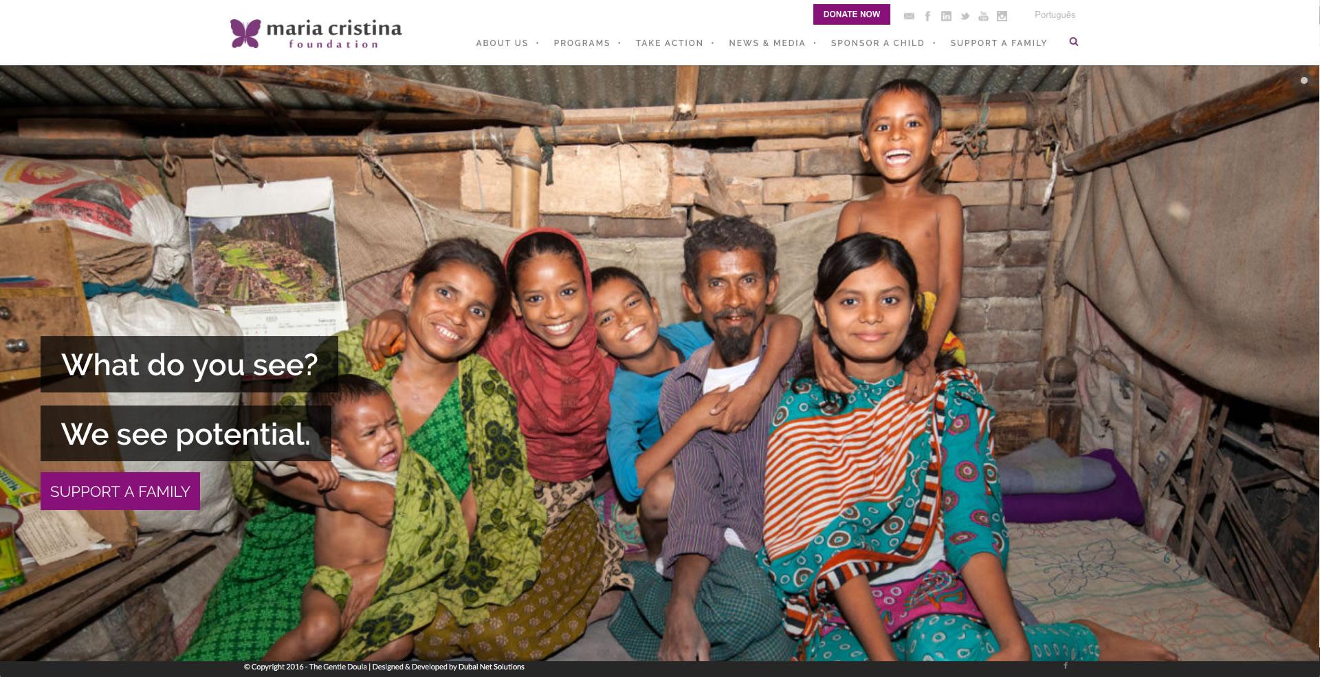 mariacristinafoundation - Maria Cristina Foundation