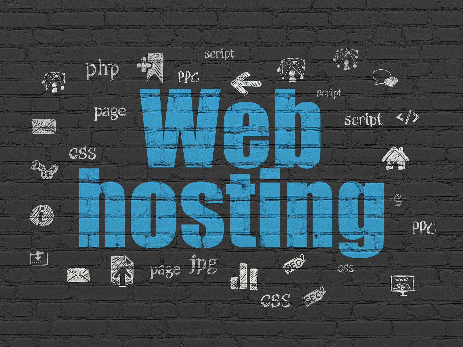 web hosting wall - Blog 2